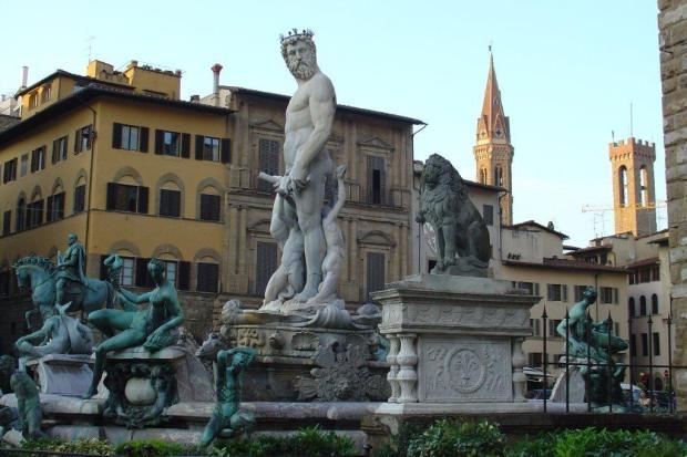 Florenta - Statui