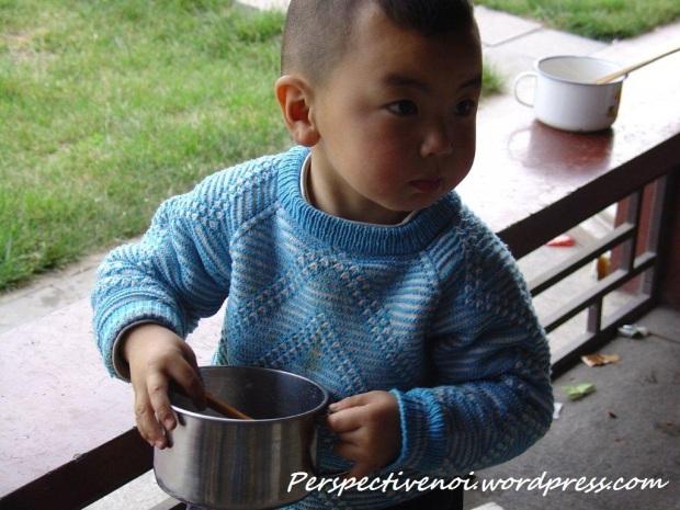 China - Mancare de orez