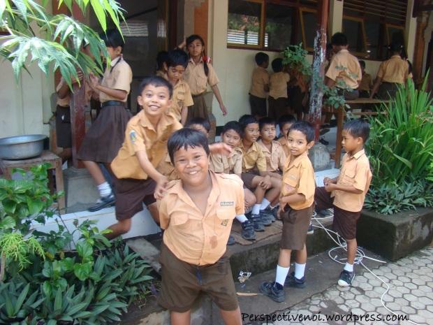 La scoala in Bali