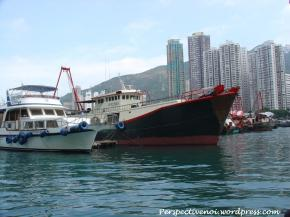 Hong Kong - in port