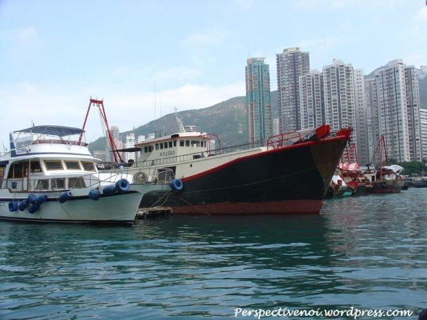 Hong Kong - in port