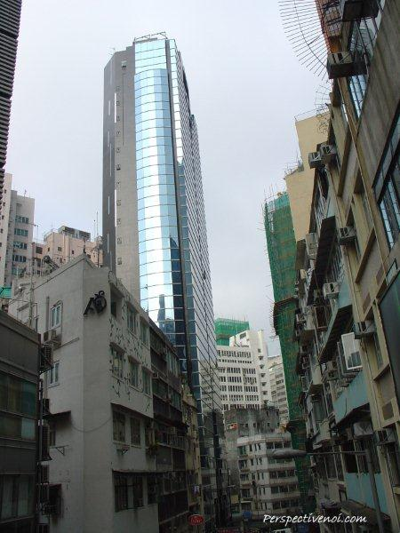 Hong Kong - Contraste